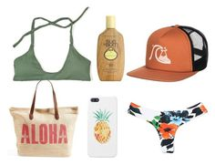 Planning an escape to paradise? Get North Shore Ready with a few of our favorites on Polyvore featuring Midori Bikinis, Rip Curl, Quiksilver and Sun Bum