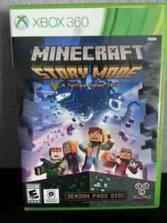Minecraft: Story Mode -- Season Disc Microsoft Xbox 360, 2015 opened box - http://video-games.goshoppins.com/video-games/minecraft-story-mode-season-disc-microsoft-xbox-360-2015-opened-box/