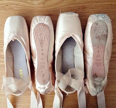 OLD & NEW... Lovely picture sent in by Bloch Fan Prisca Bertoni Take a look at our FULL RANGE of ballet pointe shoes here http://www.blochshop.co.uk/category/ballet-pointe-shoes/8