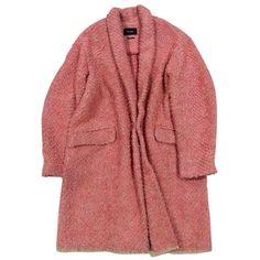 Wool coat ISABEL MARANT (35.265 RUB) ❤ liked on Polyvore featuring outerwear, coats, jackets, coats & jackets, wool lined coat, oversized wool coat, wool coats, fur-lined coats and long sleeve coat