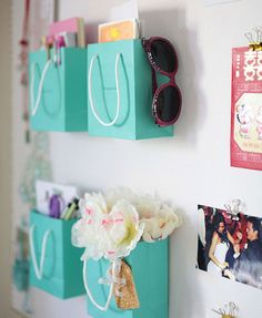 This idea made me smile because there are two boxes/bags everyone saves: Tiffany and Hermes. I wouldn't do this but I 'get' it.
