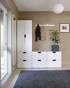 My hallway makeover up on the blog ladycashmere stylizimohouse wardrobe entr