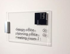 Wall Mounted Directory Signage for Businessess