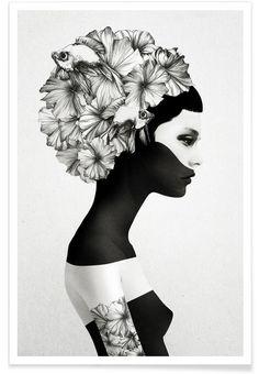 Marianna en Affiche premium par Ruben Ireland | JUNIQE