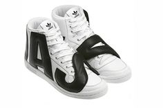 Sick! coming out in February!! JEREMY SCOTT x ADIDAS ORIGINALS (P-LETTERS LEATHER) #kicks #hightops #adidas