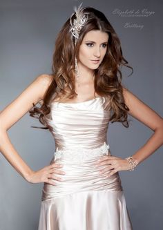 Elizabeth de Varga - 'Brittany' pure silk   Made in Australia www.devarga.com.au