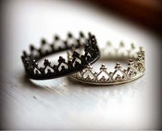 anillos de promesa coronas