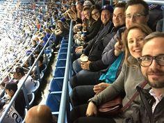 :R Team baseball selfie at the Toronto Blue Jays game.