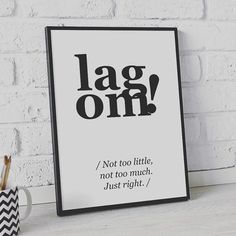 Bringen Sie die skandinavische Art nach Hause mit dem neuen Trend 2017 - Lagom aus Schweden! Schauen Sie hier an, was Lagom bedeutet.