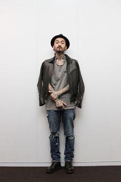 Tokyo Fashion Week Street Style. Jeans & Shoes: visvim. | Fashionsnap.com
