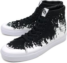 Vans SK8-Hi Paintstomp Black