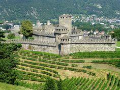 Castello di Montebello, Bellinzona,  Switzerland
