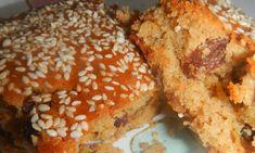 Vegan Vegetarian, Vegetarian Recipes, Greek Recipes, Dessert Bars, Creative Food, Bagel, Banana Bread, Cake Recipes, Muffin