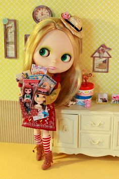 Blythe : mes magazines people
