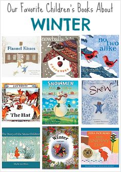 Popular Winter Picture Books for Kids- favorite fiction books about winter for children; toddlers, preschool, kindergarten and primary grades. Winter Activities, Preschool Activities, Activities For Kids, Books For Toddlers, Winter Thema, Preschool Books, Preschool Winter, Preschool Class, Winter Fun