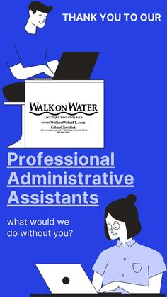What would we do without them? Administrative Assistant Day, Job Celebration, Walk On Water, Days Of The Year, A Boutique, Career, Photo And Video, Instagram, Carrera