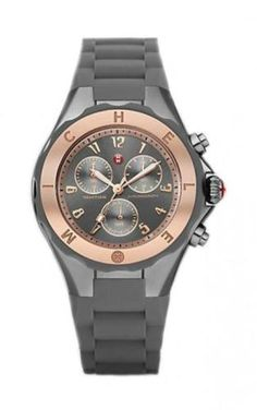 MWW12F000054-WOMENS-JELLY-BEAN-GRAY-ROSE-GOLD-TONE-SILICON-BAND-WATCH