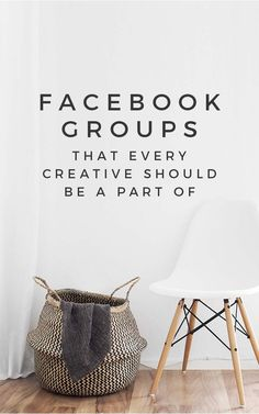 Are you a part of these inspiring Facebook groups for creatives? Now's the time to join! | facebook group ideas, join my facebook group, facebook group tips