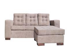 Nuestro Modular Antü es un diseño de tres cuerpos y un pouf que puedes ubicar en el lado izquierdo o derecho según la orientación de tu hogar, el color tostado combina a la perfección con pisos de madera. Sus patas de madera barnizada estructuran el sofá a la perfección, además de brindarle un equilibrio más armónico entre piso y sillón. Precio OFERTA: $219.990 *Valor no incluye envío* Couch, Furniture, Home Decor, Law, Floors, Wood, Interiors, Home, Colors