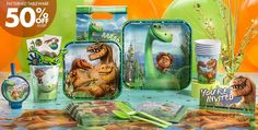 The Good Dinosaur Party Supplies - Dinosaur Birthday Party - Party City