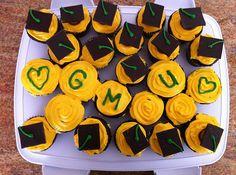 Mason cupcakes! Yum! Made by @Rebecca O