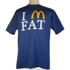 I Am Fat Shirt $19.99