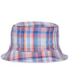 Nautica Men's Reversible Bucket Hat - Red L/XL