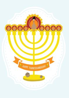 Thanksganukkah Card | Open Me