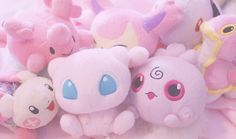 Pokemon plushies ^ - ^