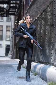 """She could work as """"Tris.."""" But Tris was supposed to be more simple and plain looking.."""