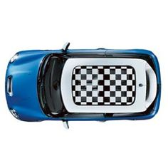 Sun Roof Graphic, Checkered Flag - You can take the MINI out of the rally, but you can't take the rally out of the MINI. Highly durable, waterproof and removable decal delivers custom, retro style. http://www.shopminiusa.com/PRODUCT/419/SUN-ROOF-GRAPHIC,-CHECKERED-FLAG/?gclid=CLeCgPzLgb4CFY3m7Aod_wYAug