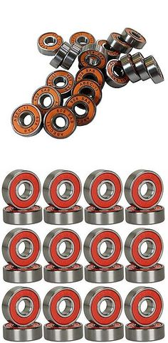Bearings 36624: Happy E-Life Silver Abec 11 Bearings For Skateboard Deck Longboard Red 8 Pcs -> BUY IT NOW ONLY: $76.91 on eBay!