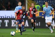 Genoa-Lazio 2 a 0. Il goal di Ioannis Fetfatzidis...