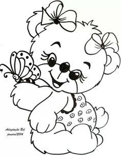 Bear cute ursinha