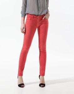 POP SLIM FIT DENIM - Jeans - Woman - ZARA