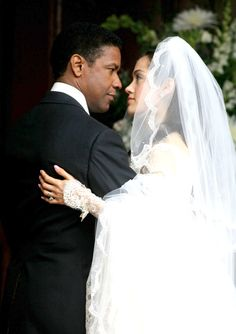 "Denzel and Pauletta Washington...Married June 25, 1983  Know What's Important The 56-year-old actor, a devout Christian, has been married to Pauletta Washington for 28 years. Washington's priorities reflect his values: ""Acting is just a way of living. Family is life."""