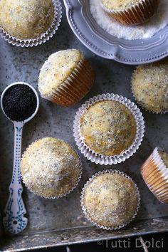Meyer Lemon Poppy Seed Muffins | Tutti Dolci