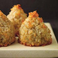 Chewy Coconut Macaroons With A Cheeky Touch of Lime