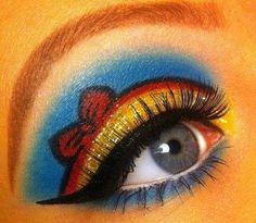 Stylish Eve Creative Eye Make Up