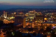 pictures of spokane wa | ... of downtown Spokane, Washington, Night photos, Spokane, Washington