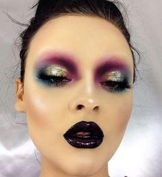 Tribal Fusion Make-up la diva nails hornchurch - Diva Nails 20s Makeup, Runway Makeup, Drag Makeup, Makeup Art, Makeup Goals, Makeup Inspo, Makeup Tips, Makeup Ideas, Helloween Make Up