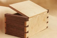 small wood box projects #Woodenboxes