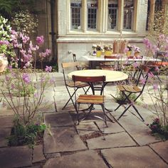 This stunning Princeton patio reminds us of Paris.  Done so well by Groundswell.