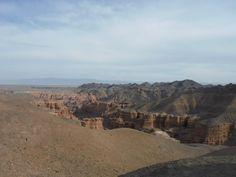 Charyn Canyon in Southeast Kazakhstan. A beautiful place! [OC] [960 x 720]