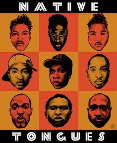 Native Tounges De La Soul A Tribe Called Quest Jungle Brothers