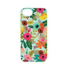 Mint Floral iPhone 6 Case