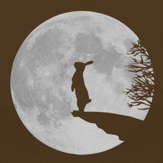 Hare & Moon via @Brigitte Coleman Coleman Klawonn