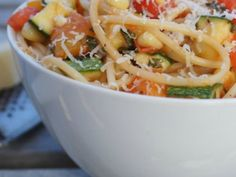 'Summer in a Bowl' Pasta