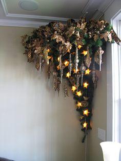 Mounted upside down Christmas tree!!
