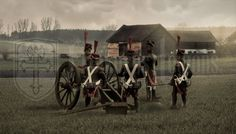 REAL CANVAS PRNIT FRENCH NAPOLEONIC ARTILLERY LANDSCAPE 54MM #Realism Cannon, French, Landscape, Canon, French People, French Language, France, Corner Landscaping